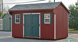 barn style roof quaker shed amish sheds built on site horizon structures