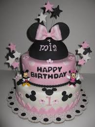 minnie mouse birthday cakes minnie mouse 1st birthday cake