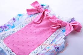 baby bow boutique pettigirl newest cotton princess flower dress hot pink bow