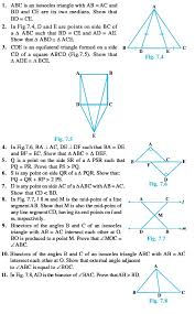 class 9 important questions for maths u2013 triangles aglasem schools