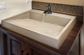Cement Bathroom Sink - photo gallery functional concrete art toledo oh