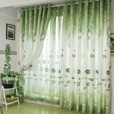 Green Colour Curtains Ideas Living Room Green Sheer Curtains Table Sets Wooden