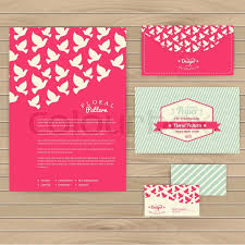weddings cards set of floral vintage wedding cards invitations or announcements