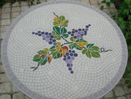 how to make a mosaic table top how to make a mosaic bistro table top