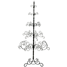 wrought iron tree 7ft black treechristmas