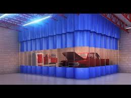 Industrial Curtain Wall Industrial Curtain Wall Valance Youtube