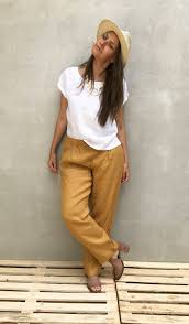 Comfortable Trousers For Women Womens Trousers Linen Pants Linen Trousers Loose Pants For