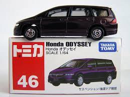 matchbox honda tomy tomica no 46 honda odyssey purple 1 66 ebay
