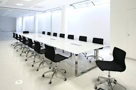 Modern Conference Table Design Contemporary Meeting Room