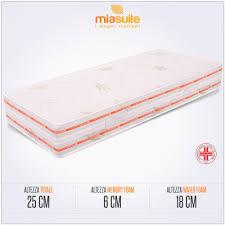 prezzo materasso memory foam materasso memory foam singolo materasso top 25 miasuite