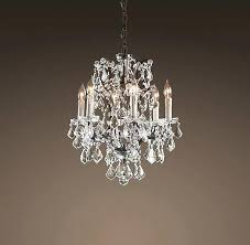 Small Chandeliers For Closets Small Chandelier For Closet Silver Fabric Chandelier