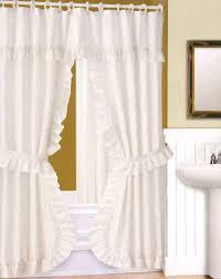 curtains water repellent bathroom window curtains elegant water