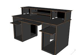 Build A Studio Desk Plans by How To Build A Recording Fair Home Studio Desk Design Home