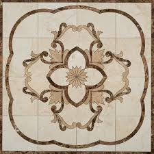 Kitchen Medallion Backsplash Create Medallions In A Variety Of Materials Just Design Visualizer