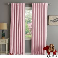 Insulated Thermal Curtains Home Insulated Thermal Blackout 84 Inch Curtain Panel Pair