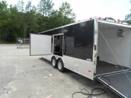 V Nose Enclosed Trailer Cabinets by Freedom 28 U2032 Race Package Cabinets 110 Loaded