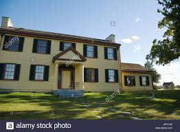 Col House by Illinois Rock Island Exterior Of Two Story Wooden Home Colonel