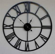 Decorative Metal Wall Clocks Wonderful Decoration Metal Wall Clock Large Looking Decorative