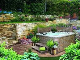 Backyard Gift Ideas Small Backyard Designs With Fair Tub Backyard Ideas