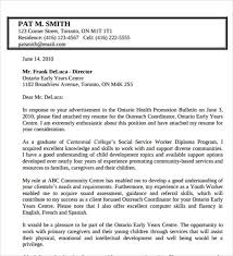 social worker cover letter example family social worker cover