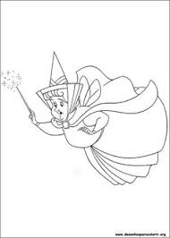 sleeping beauty with animals coloring pages for kids printable