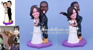 humorous african american wedding cake toppers wedding ideas