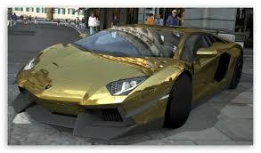 gold chrome lamborghini aventador lamborghini aventador lp700 4 gold chrome gran turismo 5 4k hd
