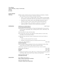 Sample Resume Objectives For Bus Driver by Entry Level Courier Resume Template Chauffeur Resume