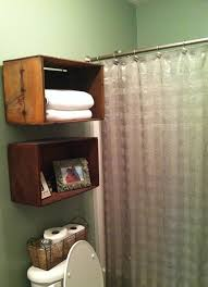 Bathroom Shelves Ideas 13 Creative Bathroom Organization And Diy Solutions 4 Wooden