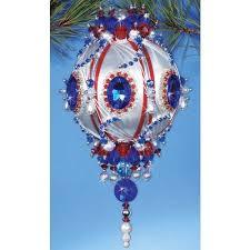 10 best beaded christmas ornament handmade images on pinterest