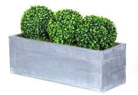 Topiary Planters - artificial topiary box ball planter triple secret garden eastbourne