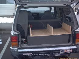 jeep wagoneer trunk yucca man xj cargo box