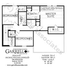 up house floor plan kingston house plans house plans by garrell associates inc
