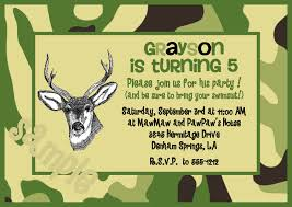 camo birthday invitation free printable invitation design