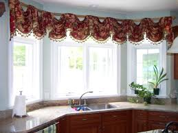 kitchen beautiful kitchen curtains ideas bay window exquisite