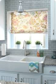 Open Kitchen Shelves Instead Of Cabinets Love The Open Shelving U0026 Cabinet Curtain Under The Sink For The