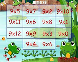 multiplication game jump x9 an enjoyable multiplication game
