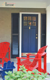 Best Exterior Door Paint Painting Your Shutters With Front Door Paint Modern Masters Cafe