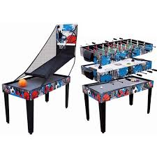 4 in one game table medal sports 48 4 in 1 combo table walmart com