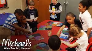 art class michaels inspires michaels youtube