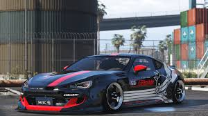 subaru brz rocket bunny v2 greddy racing brz gta5 mods com