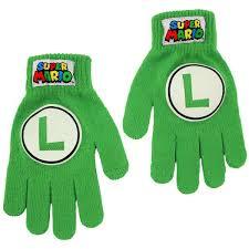 luigi gloves super mario brothers