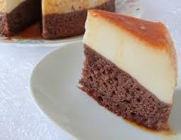 recettes de cuisine 2 recette gâteau flan magique 2 en 1 au chocolat cuisinez gâteau