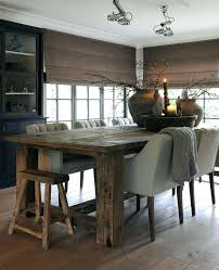 Rustic Dining Room Table With Bench Rustic Modern Furniture Interesting Modern Rustic Dining Room Sets