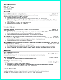 Job Resume Accounting by 100 Resume Sample For Fresh Graduate Accounting Technology