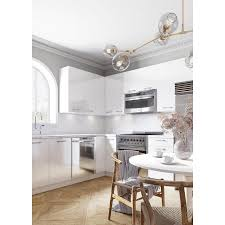 42 inch kitchen wall cabinets lowes cambridge 30 in w x 42 in h x 12 in d glossy white engineered wood door wall stock cabinet