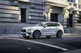 first production 2018 volvo xc60 rolls off swedish assembly line