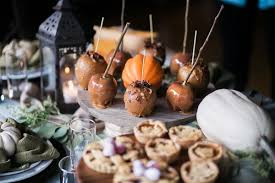 events catering thanksgiving table inspiration