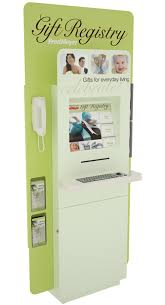 custom retail kiosk fred meyer gift registry kiosk by olea