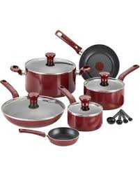 black friday pan set kohl u0027s black friday now t fal excite 14 piece nonstick aluminum